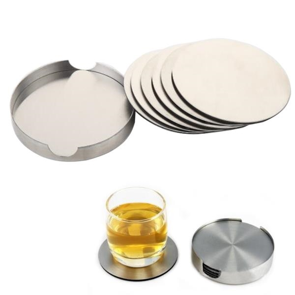 Stainless Steel Coasters Set