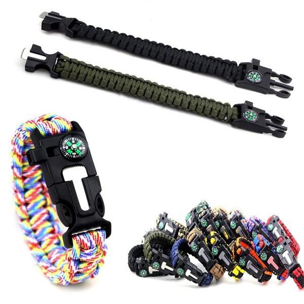 5 In 1 Camping Survival Bracelet