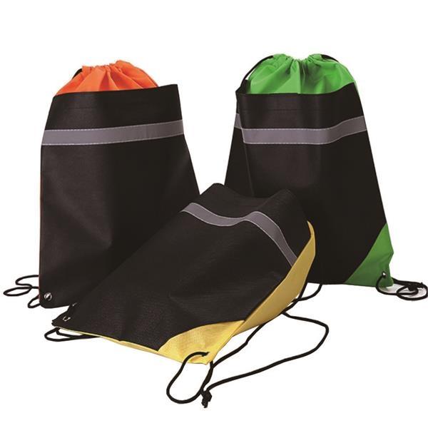 2 Tone Non-woven Drawstring Bag