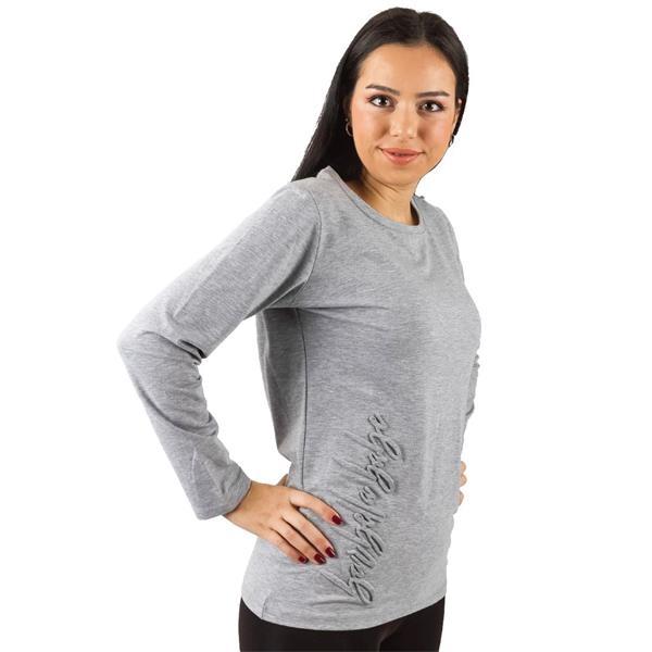 Embossed Long Sleeve Shirt