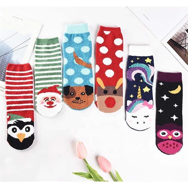 Custom Fuzzy Holiday Socks