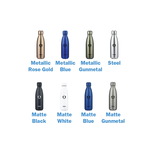 Stainless Steel Cola Shaped Bottle, Leak Proof Lid