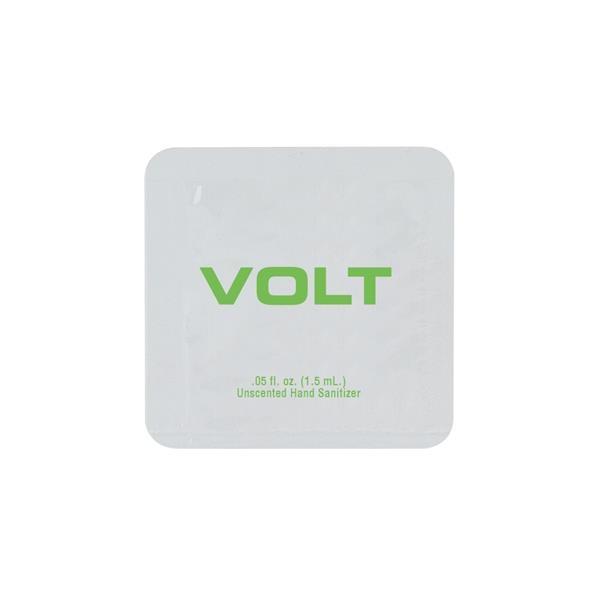 0.05 oz. Pad Printed Single Use Sanitizer Packet