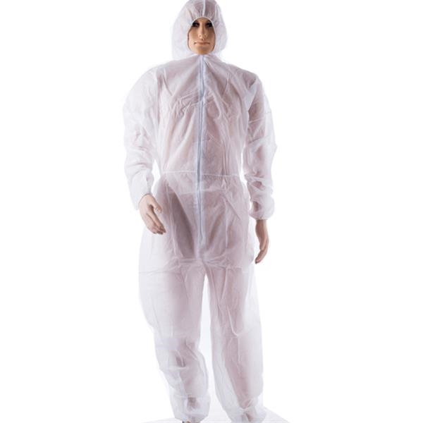 Non-Woven Disposable Bunny Suit - 30gsm