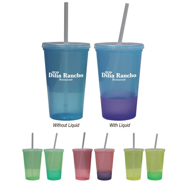 22 Oz. Color Changing Tumbler