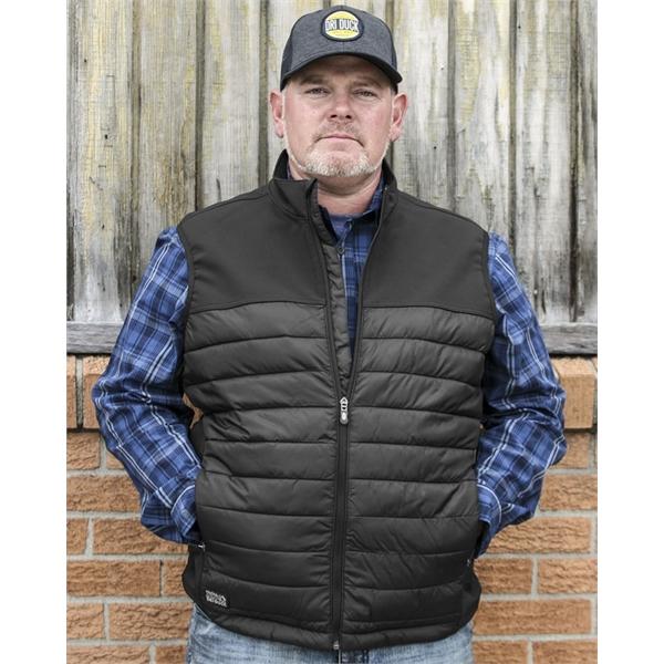 DRI DUCK Summit Soft Shell Puffer Vest