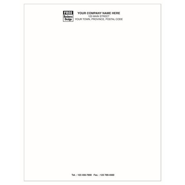 Discount Letterhead - Basic