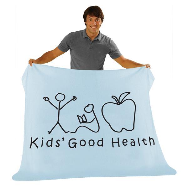 Premium, 30 x 40, Fleece Baby Blanket