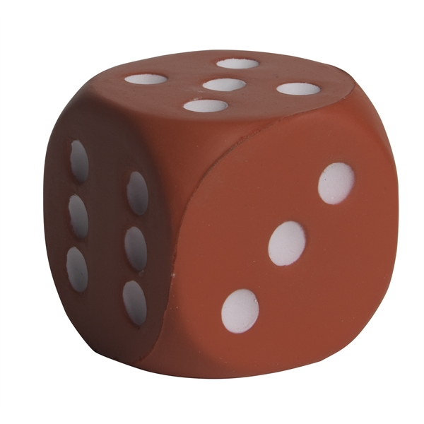 Squeezies (R) Dice Stress Reliever