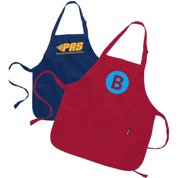 Multipurpose Apron w/ Custom Logo & Adjustable Neck Strap