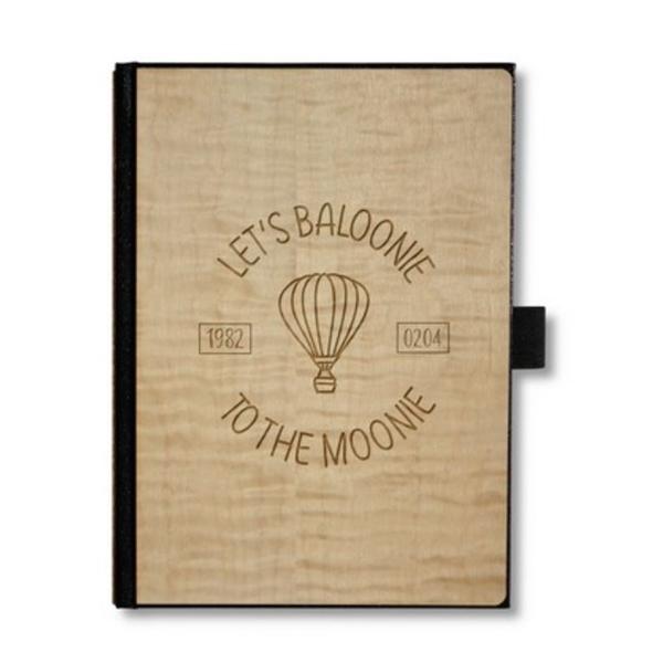 Wooden Journal, Notebook, Planner (5