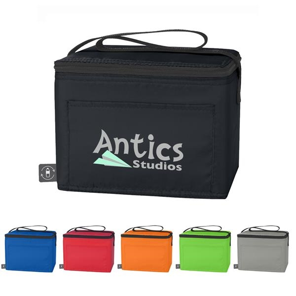 Non-Woven Cooler Bag With 100% RPET Material
