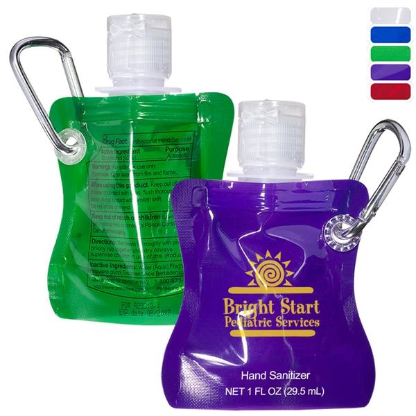 Collapsible Hand Sanitizer - 1 oz.