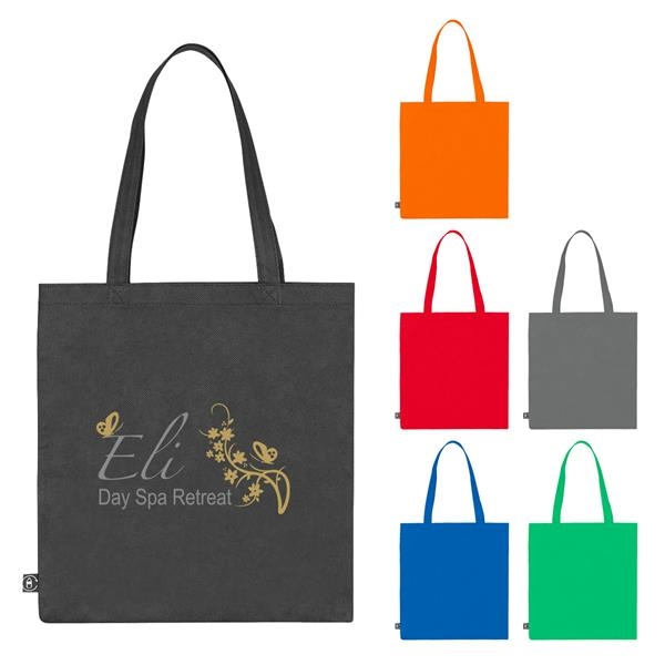 Non-Woven Tote Bag With 100% RPET Material