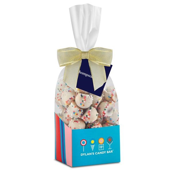 Signature Boxi Base (White Chocolate Sprinkled Pretzel Balls