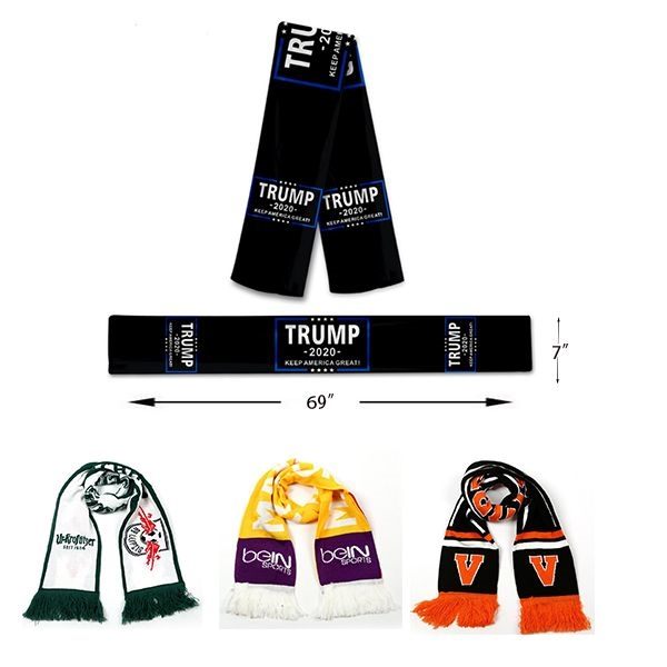 Trump Knitted Scarf
