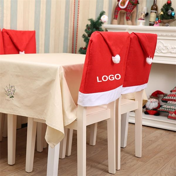 Christmas Non-woven Chair Cover