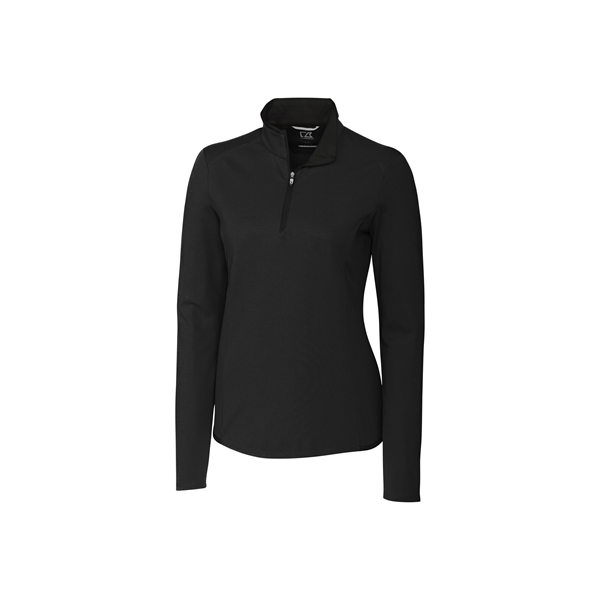 Ladies' Advantage Half Zip Mock