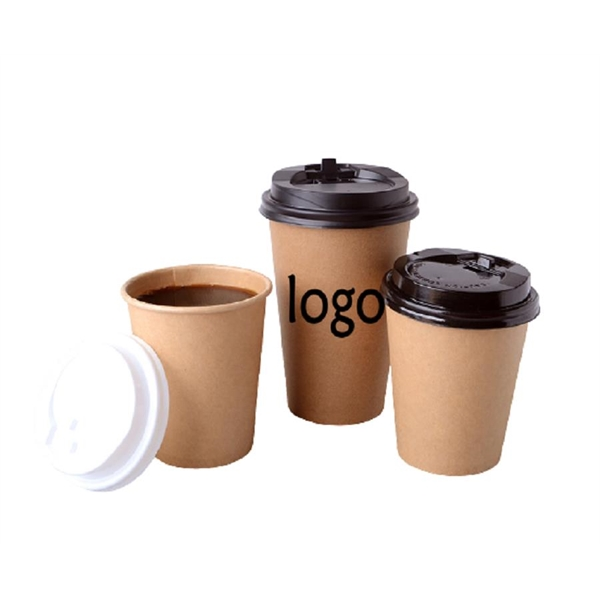 Disposable Ripple Wall Paper Hot Coffee Cup