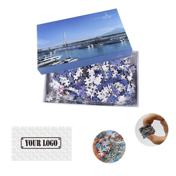 Full Color 1000 Piece Jigsaw Puzzle