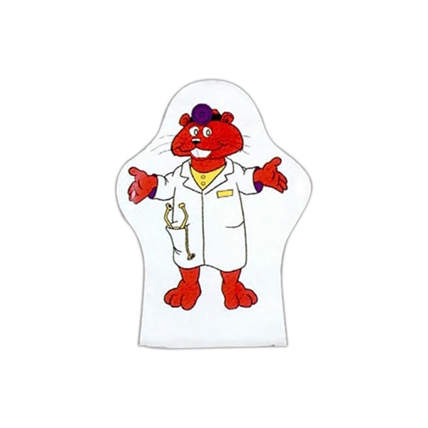Color Me (tm) - Two Color - Custom Design Hand Puppet Photo