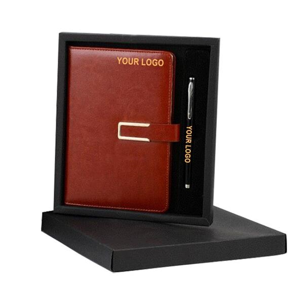 Business Journal Notebook Gift Set with Pen