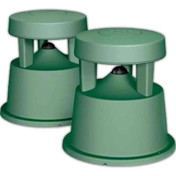 Bose Free Space 51 Environmental Speakers- Garden Hose Green