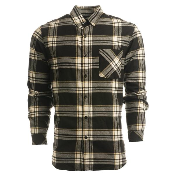 Burnside Open Pocket Long Sleeve Flannel Shirt