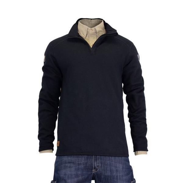 NSA Men's Tecgen FR Mock Zip Sweatshirt