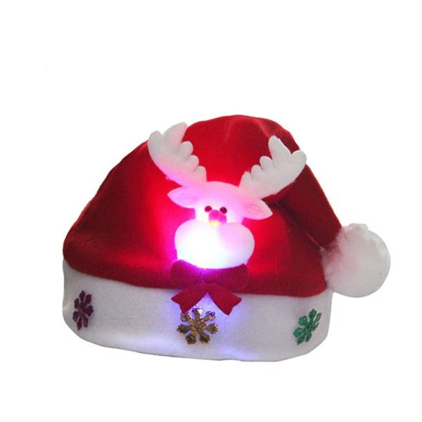 LED Kids Christmas Hat