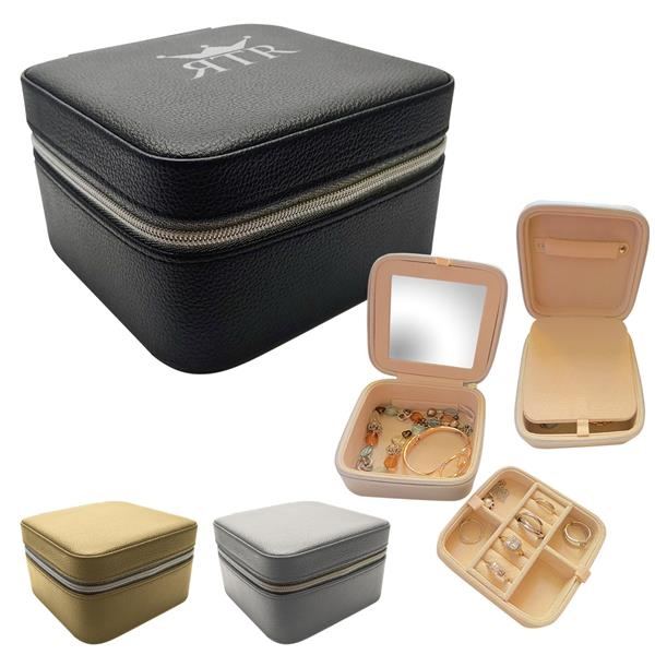 Compact Travel Jewelry Case
