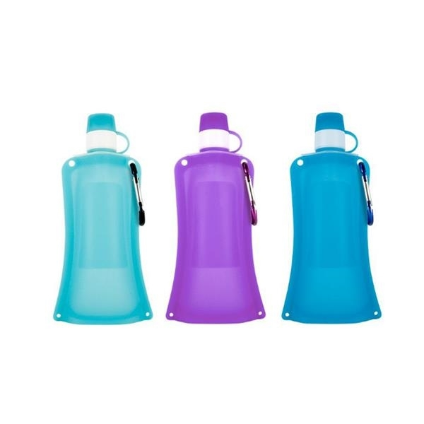 Pocket Silicone Water Bottle