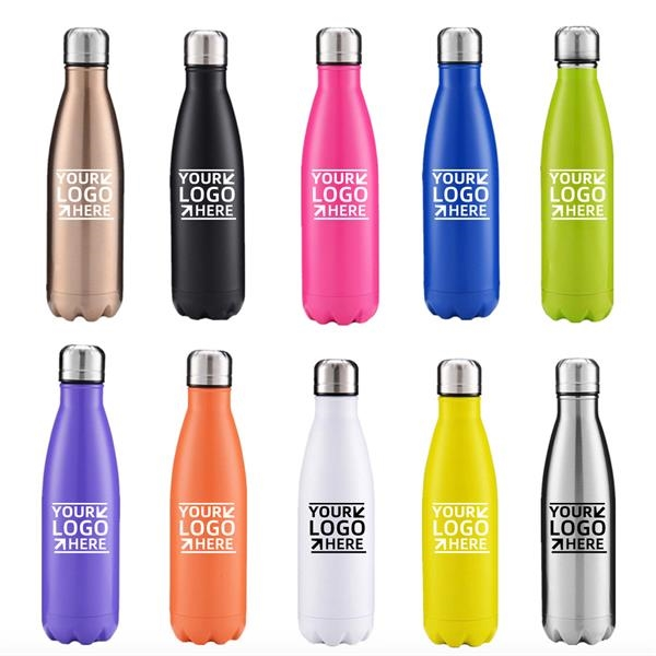 Double Wall Stainless Steel Water Bottle(12oz/17oz/25oz)