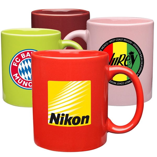 11 oz. Ecomomy Ceramic Coffee Mugs, corporate gift Drinkware