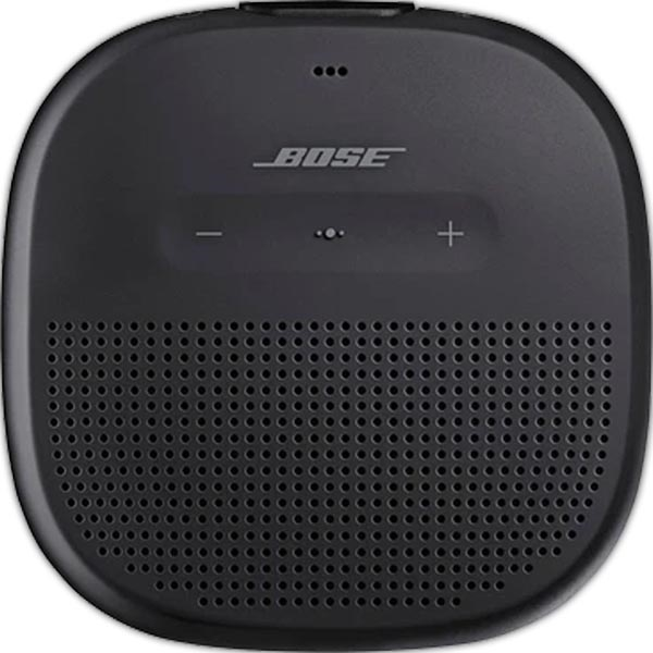 SoundLink Micro Bluetooth® speaker - Black/Black Strap