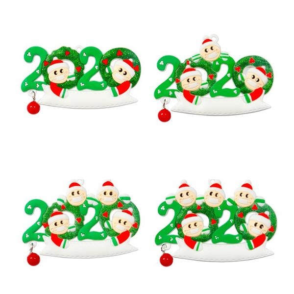 Family Members Christmas Hanging Ornament