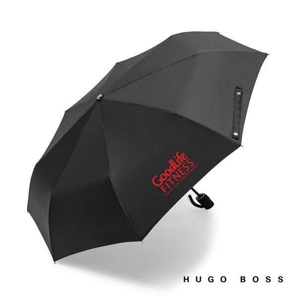 Hugo Boss Grid Pocket Umbrella