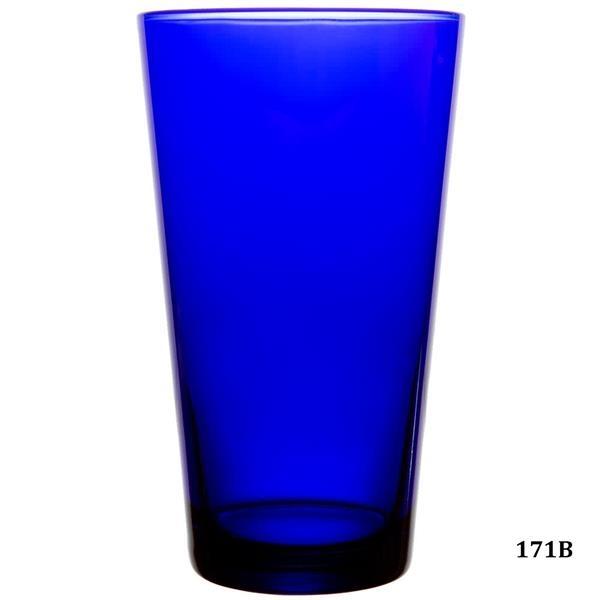 Cobalt Blue Cooler, Iced Tea Glasses and Drinking Goblets