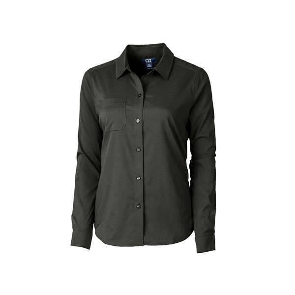 Ladies' Versatech Geo Dobby Shirt