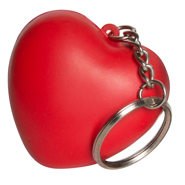 Squeezies (R) Heart Keyring Stress Reliever