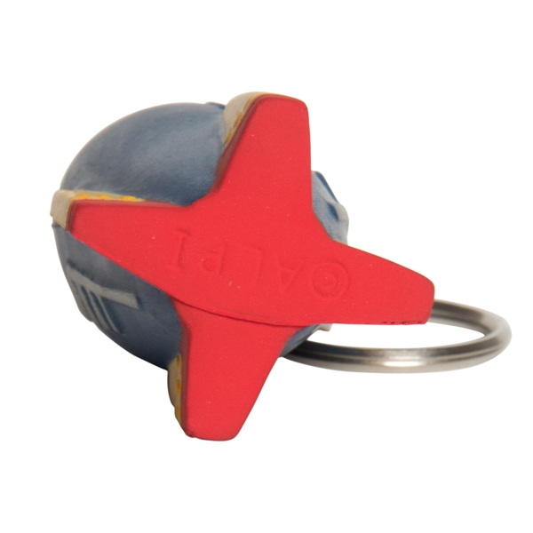 Squeezies (R) Rocket Keyring Stress Reliever
