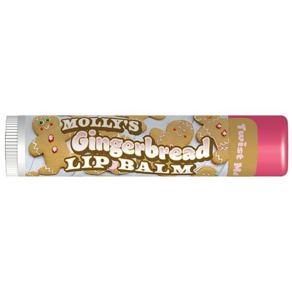 Organic Holiday Gingerbread Premium Lip Balm
