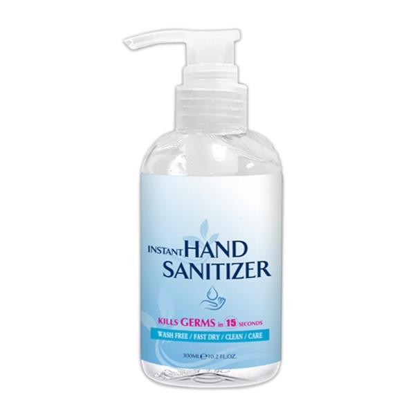 Hand Sanitizer with Alcohol, 10.2 oz.