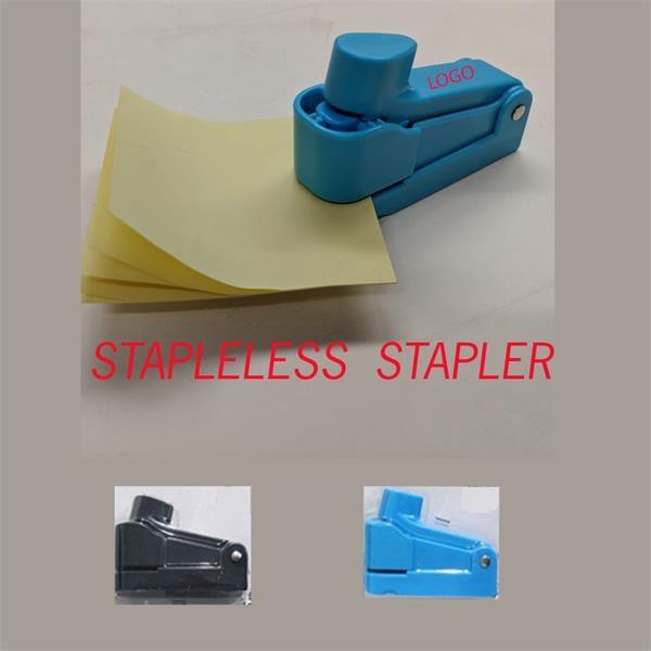 Revolutionary Staple less Stapler