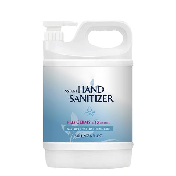 Hand Sanitizer with Pump, 0.5 Gallon