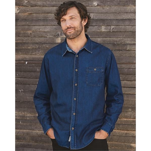 Weatherproof Vintage Denim Long Sleeve Shirt