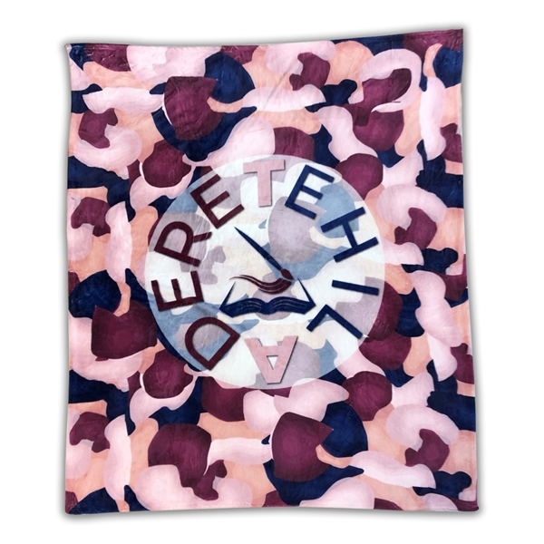 Sublimated Silk Touch Blanket