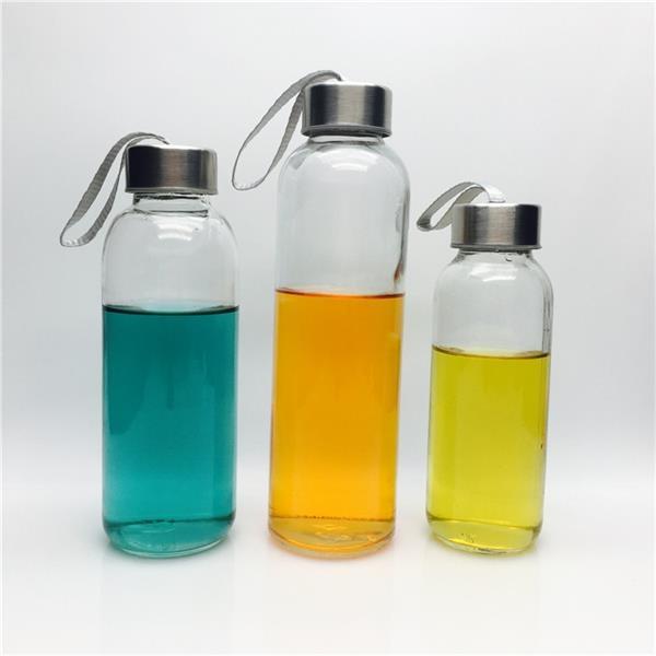 300ml 420ml 500ml Glass Sports Drinking Bottles