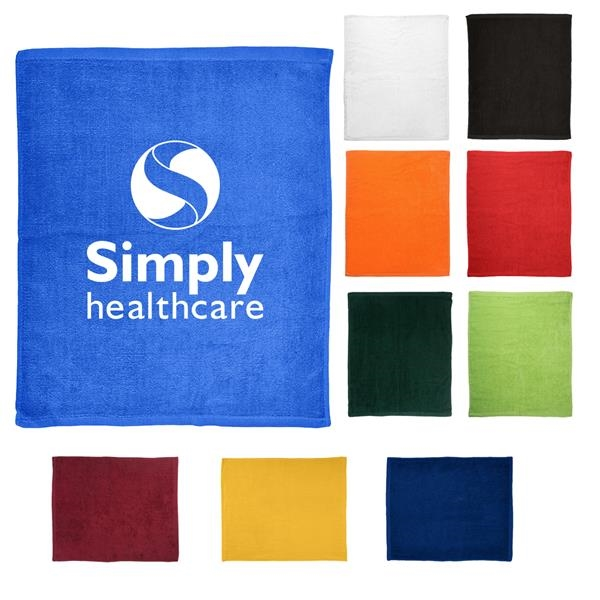 Foldable colorful rally towels