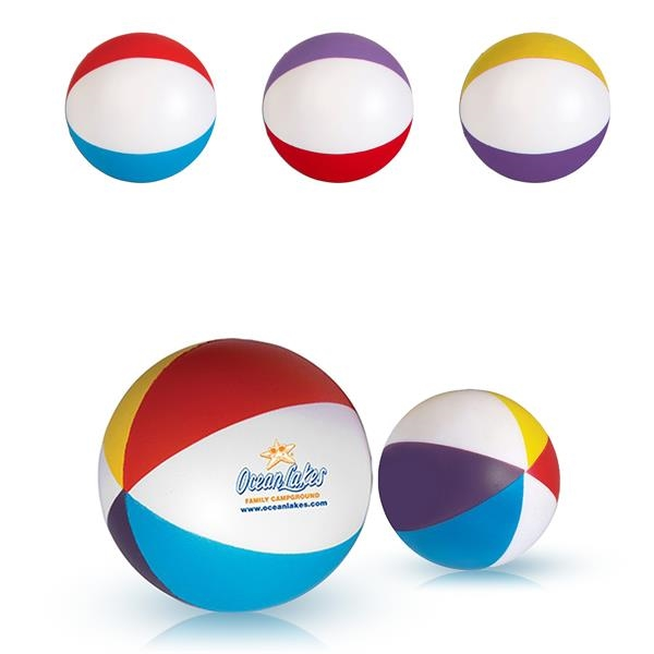 Brightly Colored Stress Reliver Balls
